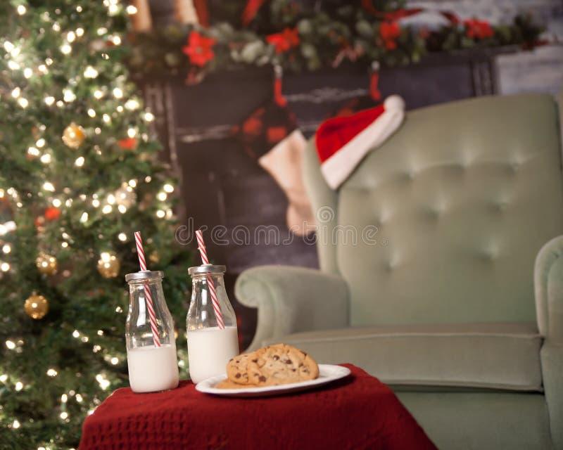 Trazione dell'albero di Natale fotografia stock libera da diritti
