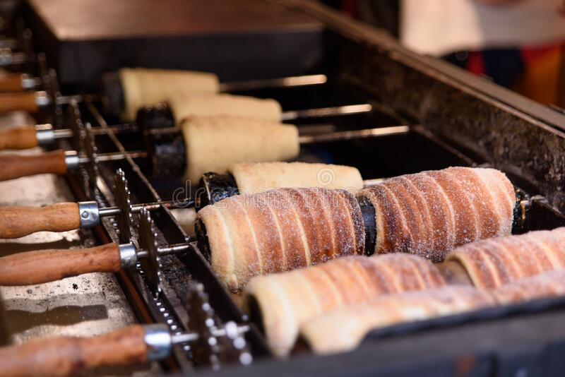 Trdelnik Spits for Traditional Chimney cake Trdelnik Prugelkrapfen Baumstrie GB3