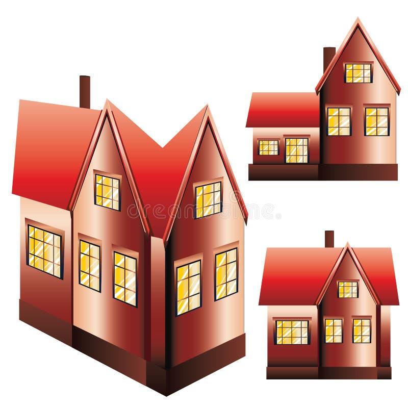 Tre Camere messe royalty illustrazione gratis