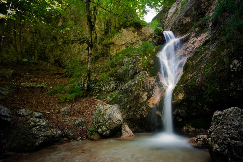 Download Tre Cannelle Waterfall III stock image. Image of silky - 10926941