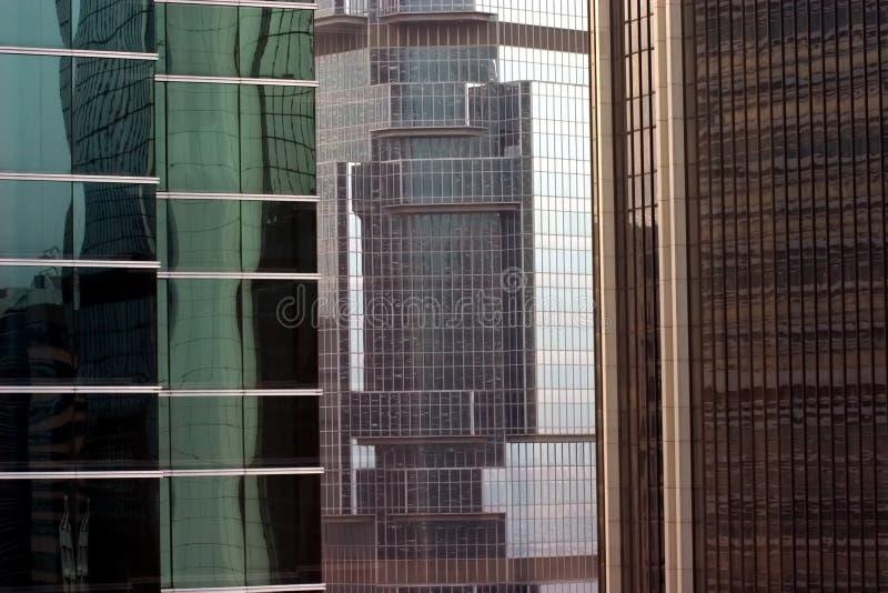 Tre costruzioni immagine stock libera da diritti