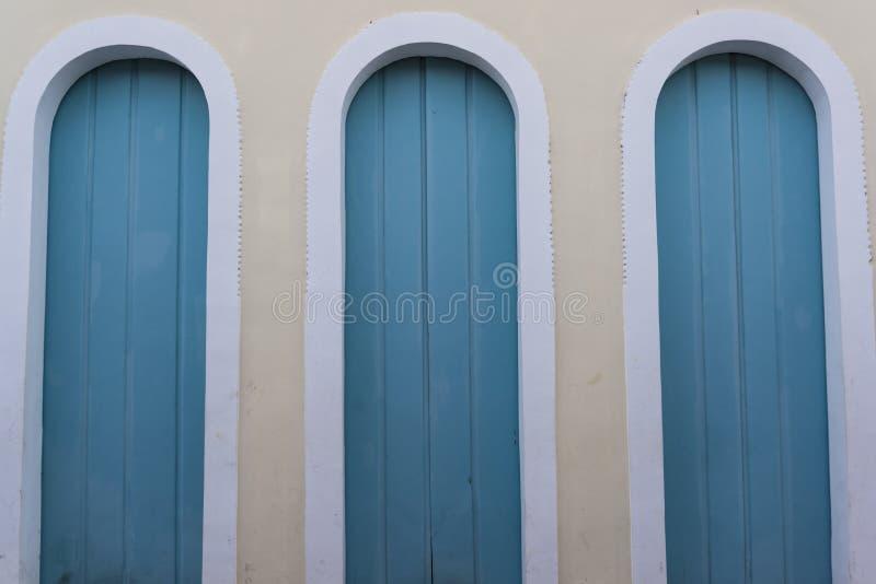 Tre dörrar, Lençà ³ är, Chapada Diamantina, Bahia, Brasilien arkivbild