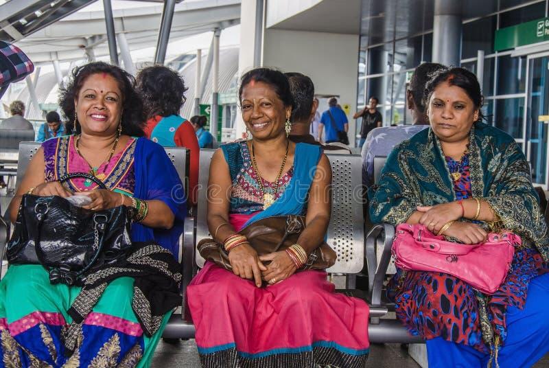 Tre donne di hindi immagini stock libere da diritti