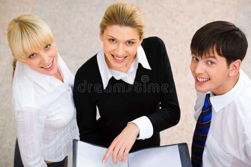 Tre genti fotografia stock