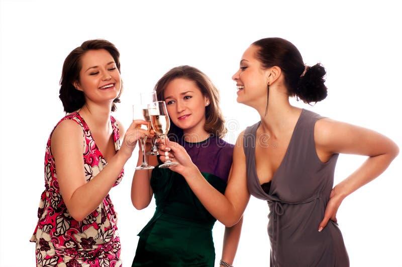 Tre giovani donne fotografia stock libera da diritti