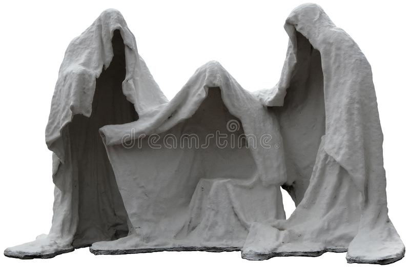 Tre Goblins fotografia stock