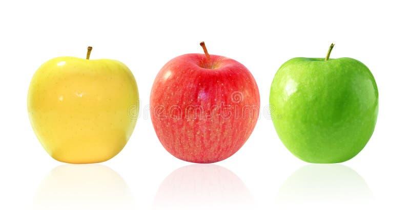 Tre mele immagine stock immagine di variet squisito - Immagini stampabili di mele ...