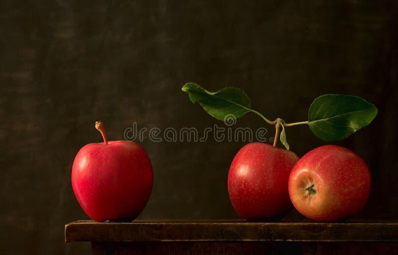 Tre mele immagine stock libera da diritti