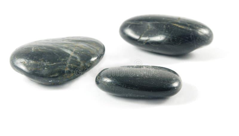Tre pietre immagini stock