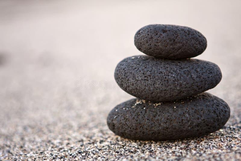 Tre pietre fotografia stock libera da diritti