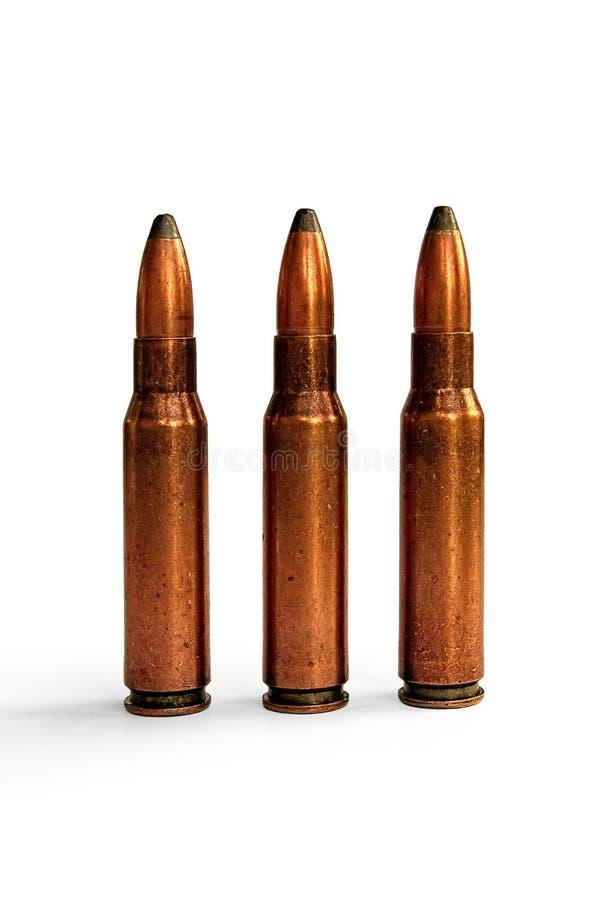 Tre richiami per il carbine immagini stock