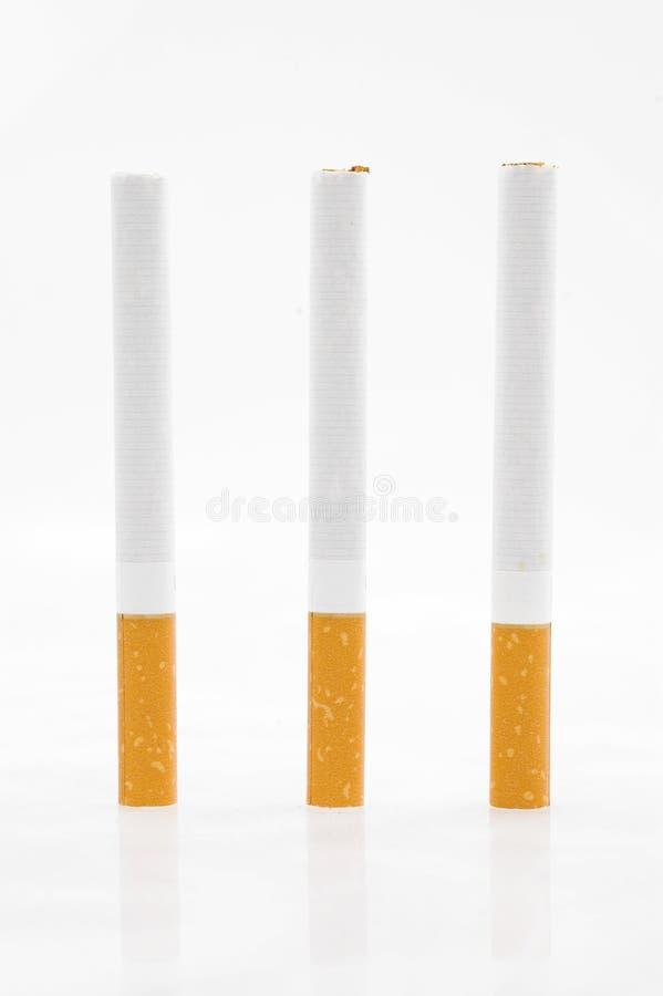 Download Tre sigarette immagine stock. Immagine di farcito, fumare - 3132493