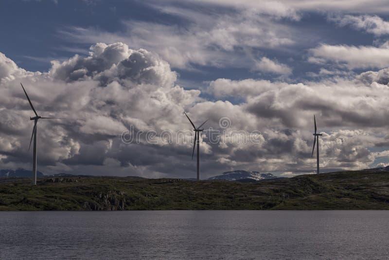 Tre turbiner arkivbilder