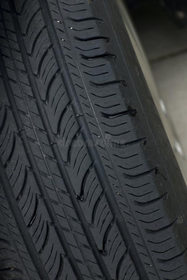 Tread of tire stock photos