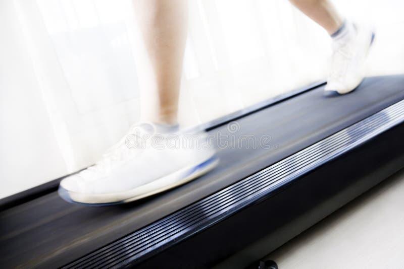 treadmill royaltyfria bilder