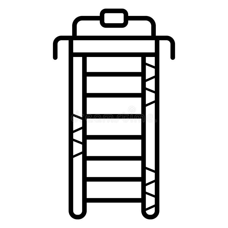 Treadmill icon. Illustration photo stock illustration