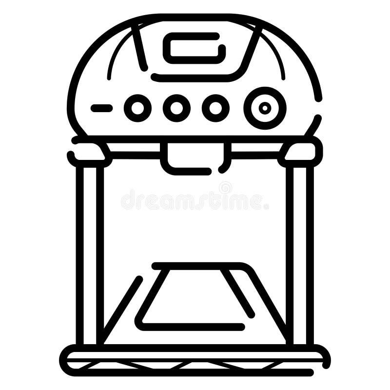 Treadmill icon. Illustration photo vector illustration