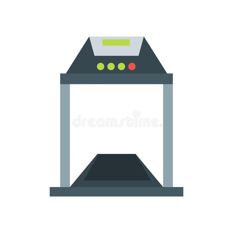Treadmill icon vector sign and symbol isolated on white background, Treadmill logo concept. Treadmill icon vector isolated on white background for your web and stock illustration