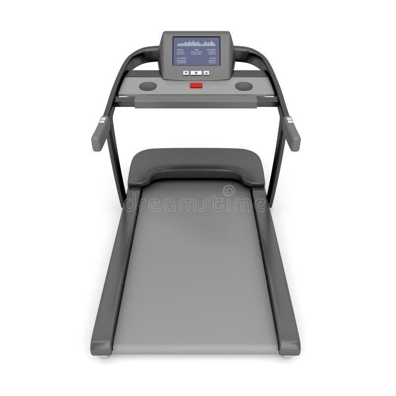 Treadmill Machine On White Royalty Free Stock Photo