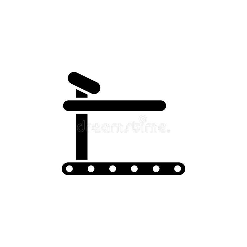 The treadmill, mill, speedwalk icon, illustration,. The treadmill, mill, speedwalk icon, illustration  on white background royalty free illustration