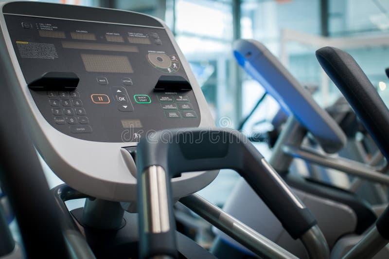 Treadmill panel royalty free stock photography