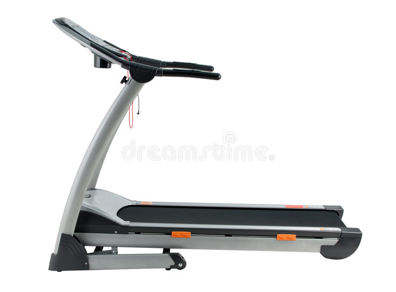 Treadmill Running Exercise Track Stock Photos