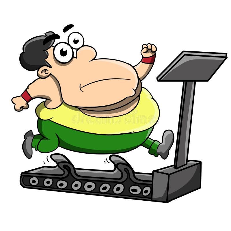 Download Treadmill stock illustration. Image of jogging, cartoon - 39957989