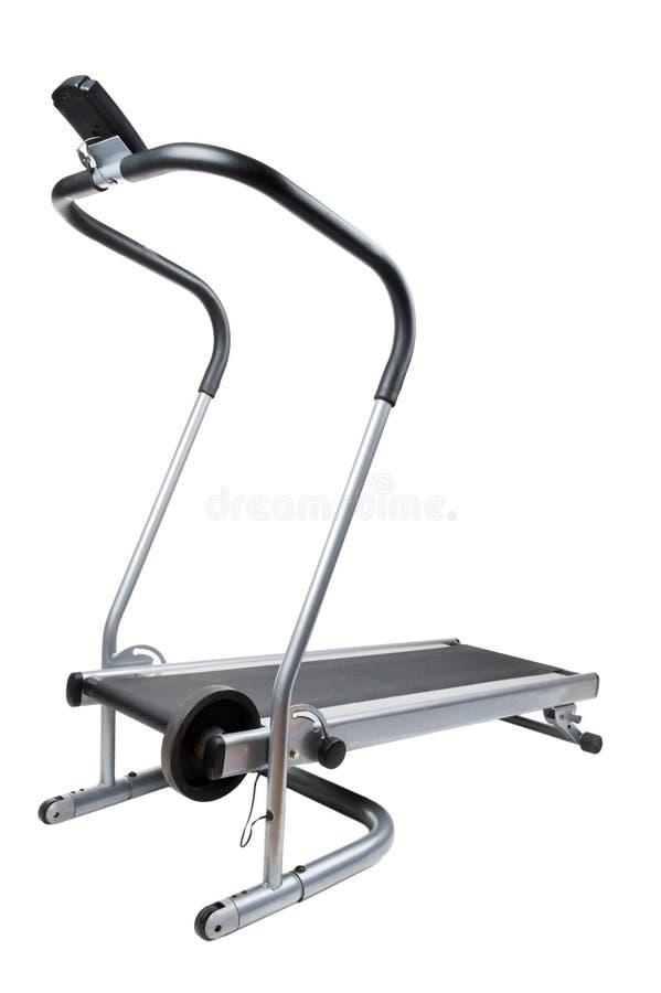 Treadmill On White Close Up Royalty Free Stock Photo