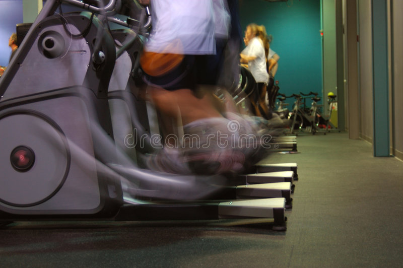Download Treadmills Royalty Free Stock Photo - Image: 2264835