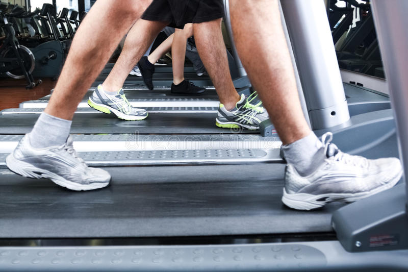 Download Treadmills stock image. Image of healthy, treadmill, training - 24762885