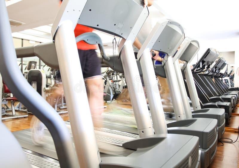 Treadmills Stock Image
