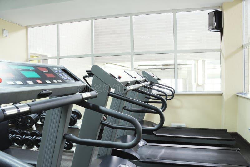 treadmills στοκ εικόνα