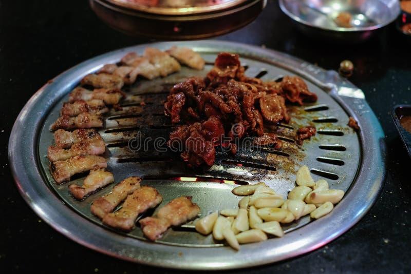 Treakyvarkensvlees voor Geroosterde Varkensvleesbuik stock afbeelding