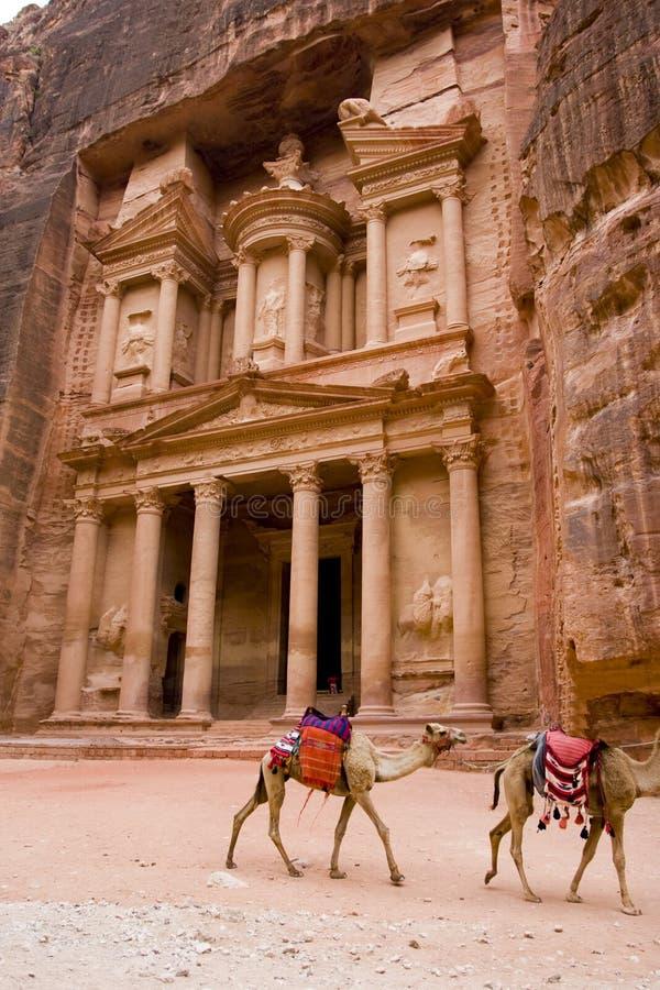 Download Treasery petra Иордана стоковое фото. изображение насчитывающей высекать - 6863804