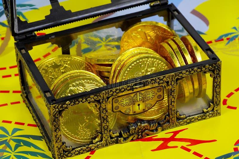 Treasure stock images