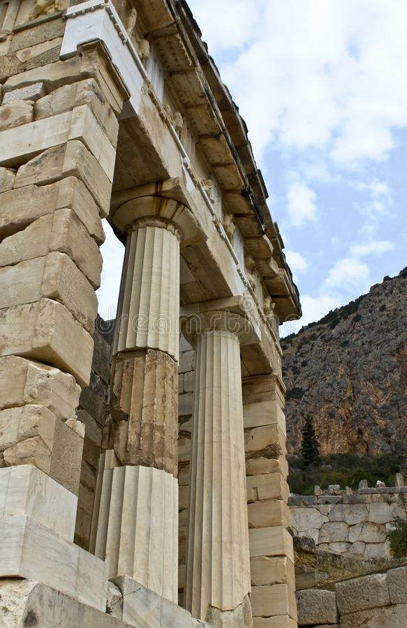 Download Treasure Of The Athenians At Delphi Oracle Stock Photo - Image: 13294420