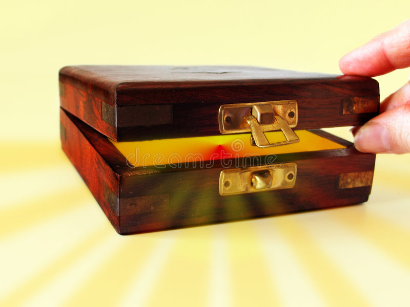 Download Treasure box stock image. Image of close, find, keep, secret - 100369