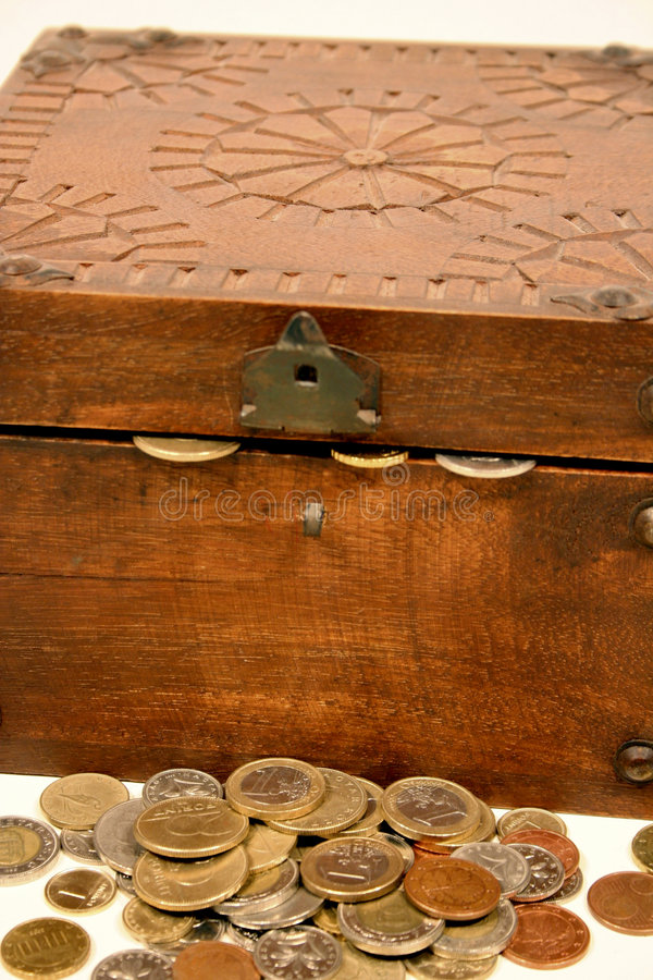 Treasure chest 1 royalty free stock images