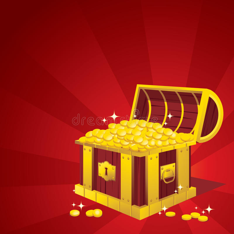 Download Treasure Chest stock vector. Image of award, discovery - 10222304