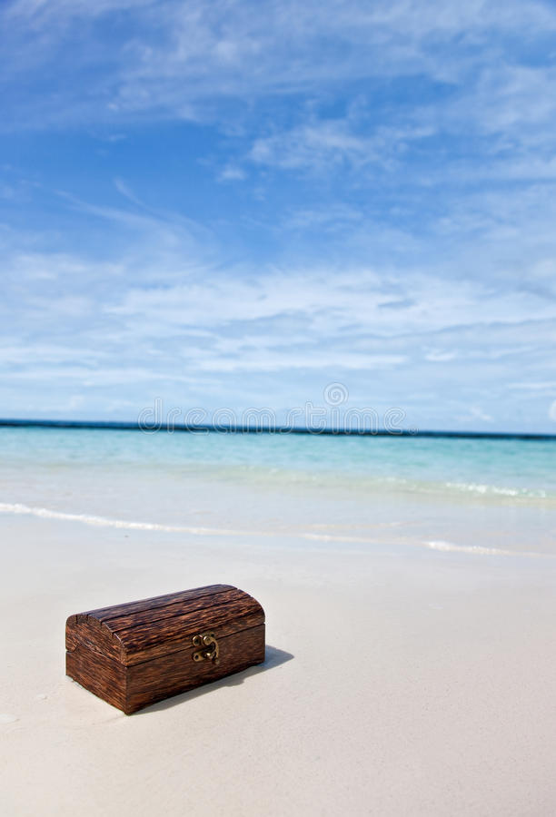 Download Treasure chest stock photo. Image of object, blue, holiday - 15426926