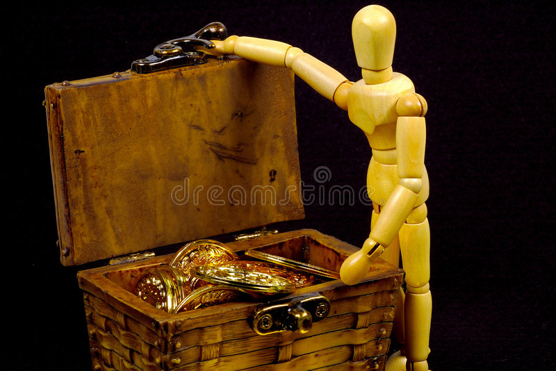 Download Treasure Chest stock image. Image of conceptual, mannequin - 156645