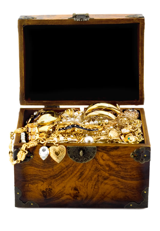 Download Treasure chest stock photo. Image of ornaments, ring - 16376248