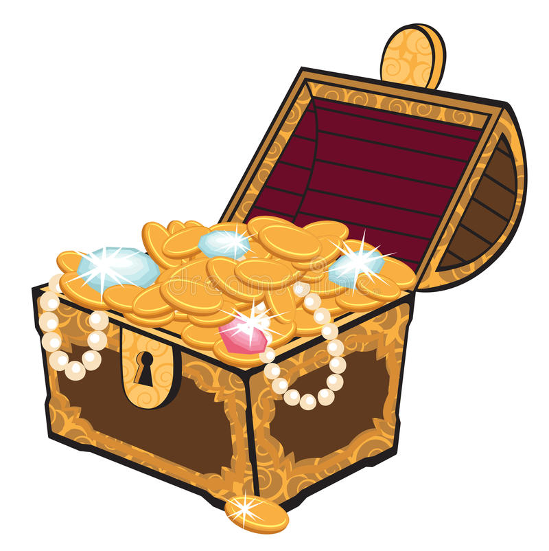 Free Treasure Chest Royalty Free Stock Photography - 19760067