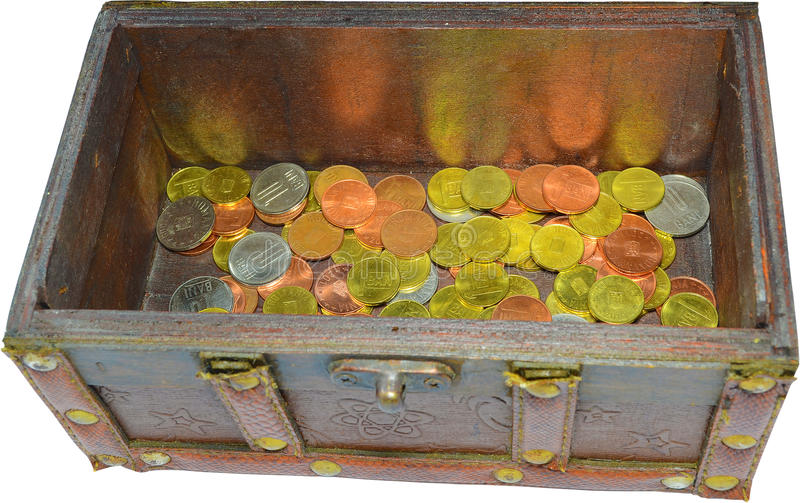 Download Treasure Chest stock image. Image of container, funds - 22200877