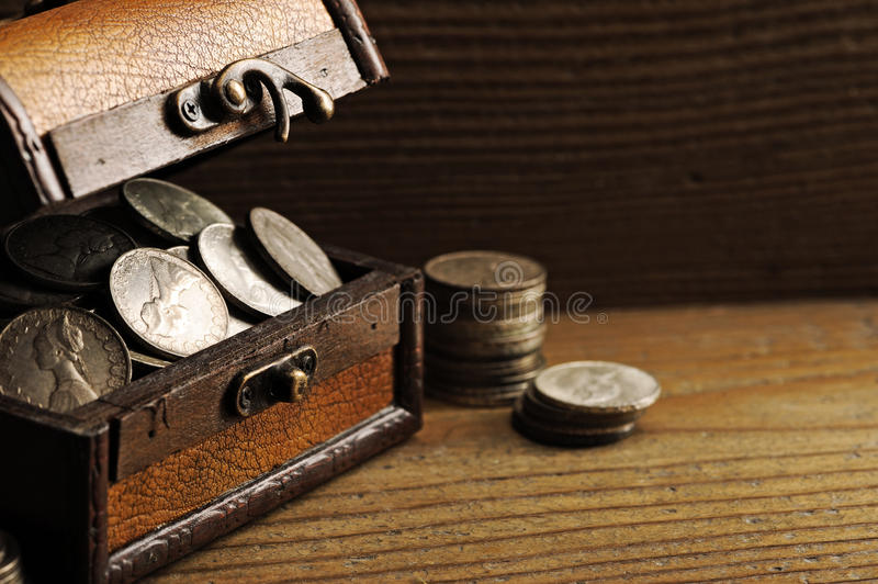 Download Treasure chest stock image. Image of grunge, coin, wealth - 22839755