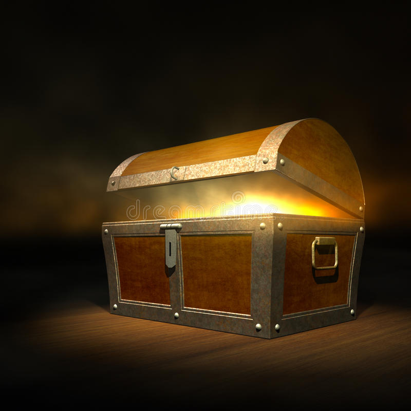 Free Treasure Chest Royalty Free Stock Photography - 23168317