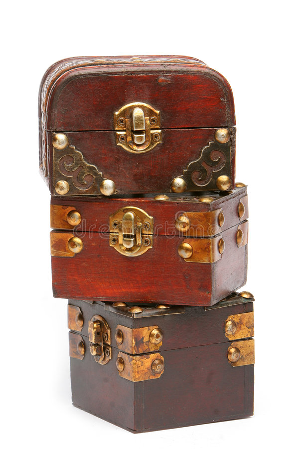 Treasure Chests Royalty Free Stock Images