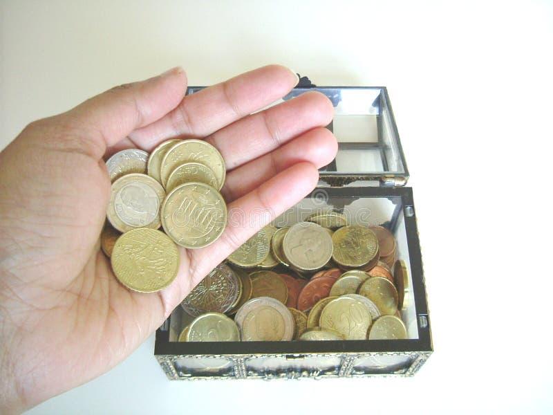 Treasure In Hand Free Stock Photography