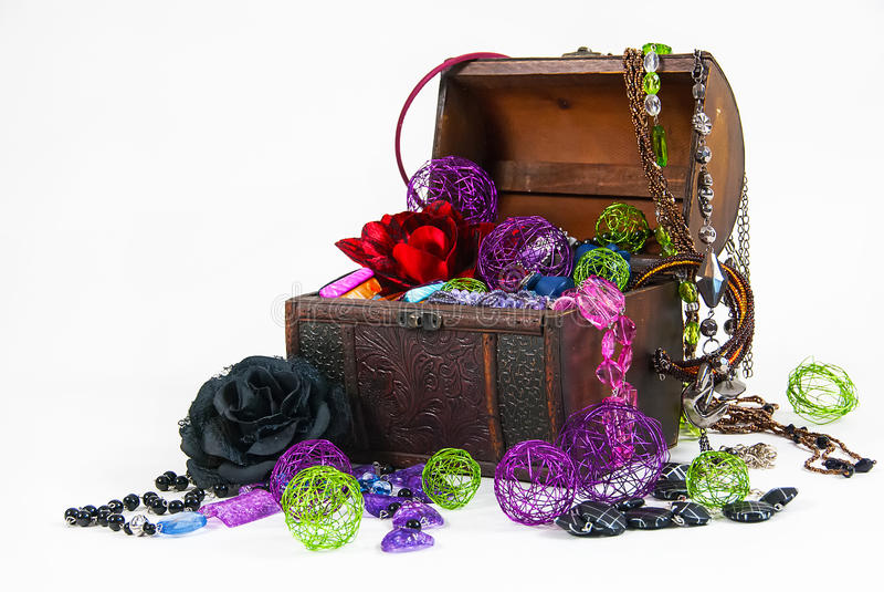 Download Treasure stock image. Image of glass, shiny, shine, jewelery - 35731337