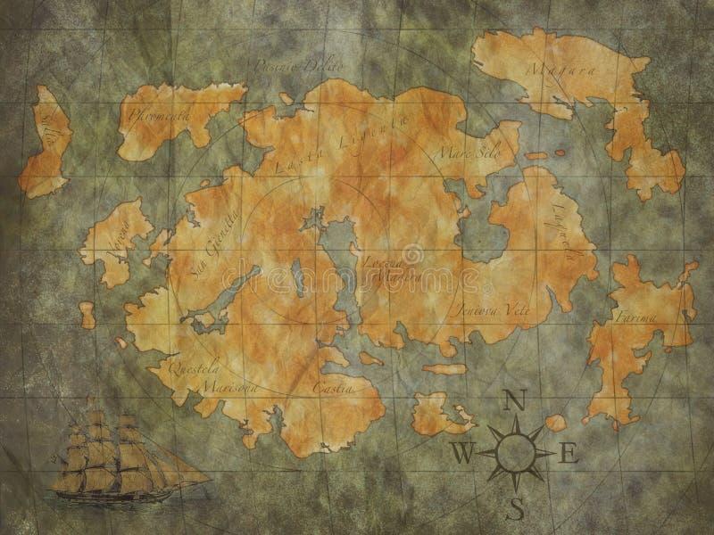 Treasure Map stock images